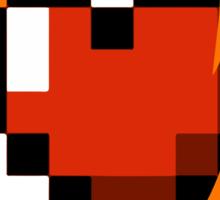 Portal Lover ! Orange Sticker