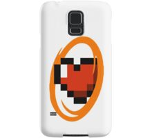 Portal Lover ! Orange Samsung Galaxy Case/Skin