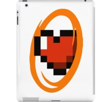 Portal Lover ! Orange iPad Case/Skin