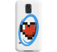Portal Lover ! Blue Samsung Galaxy Case/Skin