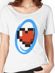 Portal Lover ! Blue Women's Relaxed Fit T-Shirt