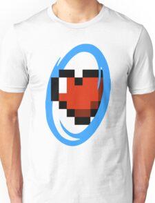 Portal Lover ! Blue Unisex T-Shirt