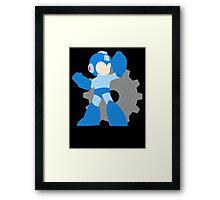 Super Smash Bros Mega Man  Framed Print