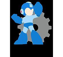 Super Smash Bros Mega Man  Photographic Print