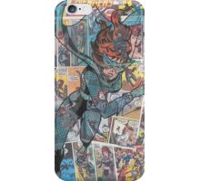 Vintage Comic Black Widow iPhone Case/Skin