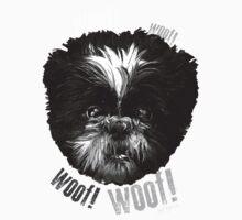 Shih-Tzu Says Woof! Woof! Kids Clothes