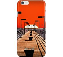 A Pier on The Thumb iPhone Case/Skin
