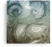 Hare Illustration Canvas Print