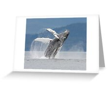 Dancing With The Waves Greeting Card