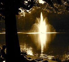Sunday Afternoon in Vondel Park by Brian McLafferty
