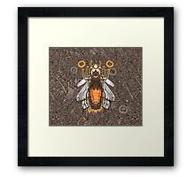 lighting bug Framed Print