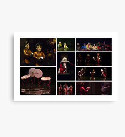 Hanoi: Water Puppet Theatre Canvas Print