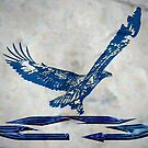 Blue Eagle by Gail Bridger