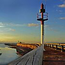 Sunset on the Jetty by cclaude