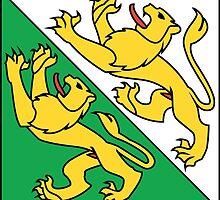 Flag of Thurgau Canton  by abbeyz71