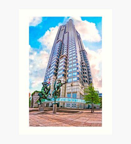 Endless Towers - Atlanta's Suntrust Plaza Art Print