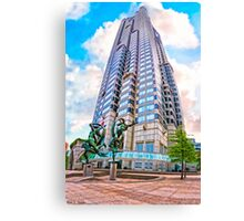 Endless Towers - Atlanta's Suntrust Plaza Canvas Print