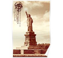 Classic America - The Statue Of Liberty Poster