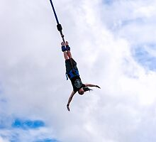 Hanging By A Moment - Bungee Jumping In Costa Rica by Mark Tisdale