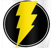 Amazing Lightning Bolt Poster
