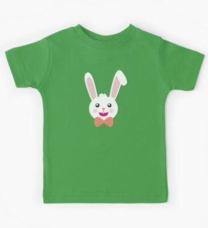 Easter Bunny Bow Tie Kids Tee