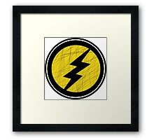 Lightning Bolt - Ray Framed Print