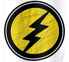 Lightning Bolt - Ray Poster