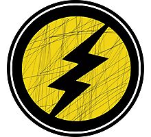 Lightning Bolt - Ray Photographic Print