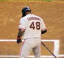 Sandoval at Bat by JoGphotos