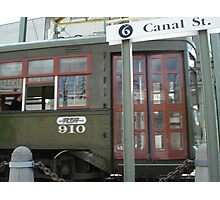 Streetcar Named Canal Photographic Print