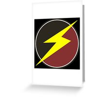Awesome Lightning Bolt  Greeting Card