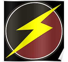 Awesome Lightning Bolt  Poster
