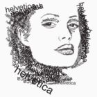 Jolie and helvetica by ickhwano