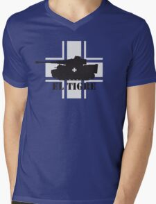 El Tigre WW2 Mens V-Neck T-Shirt