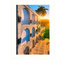 Light Of Another Day - Tombs Of Granada Art Print