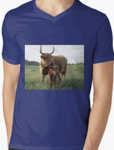 Elma and Moose  26 May 2014 Mens V-Neck T-Shirt