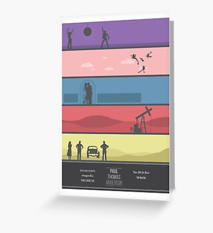 A Paul Thomas Anderson Collection Print Greeting Card