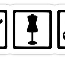 Tailor equipment Sticker