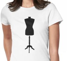 Tailor in-store mannequin Womens Fitted T-Shirt