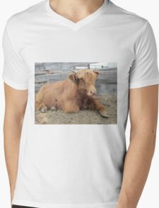 Moose  15 March 2015 Mens V-Neck T-Shirt