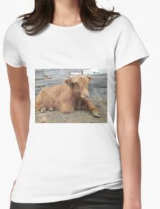 Moose  15 March 2015 Womens Fitted T-Shirt