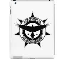 Halo, New Mombasa Police Department logo iPad Case/Skin