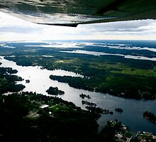 The Thousand Islands, A Plane-Eye View by Jasmine Staff