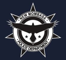 Halo, New Mombasa Police Department logo Baby Tee