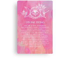 Divine Being Canvas Print