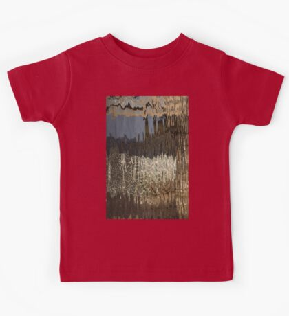 Silk, Moire and Satin Abstracts Kids Tee