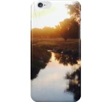 Sunset in Michigan  iPhone Case/Skin