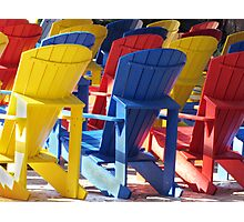 A Place To Sit.... Photographic Print