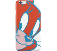 Jerry Red/Blue iPhone Case/Skin