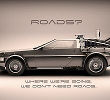 Roads ? Back to the future  by TomVD